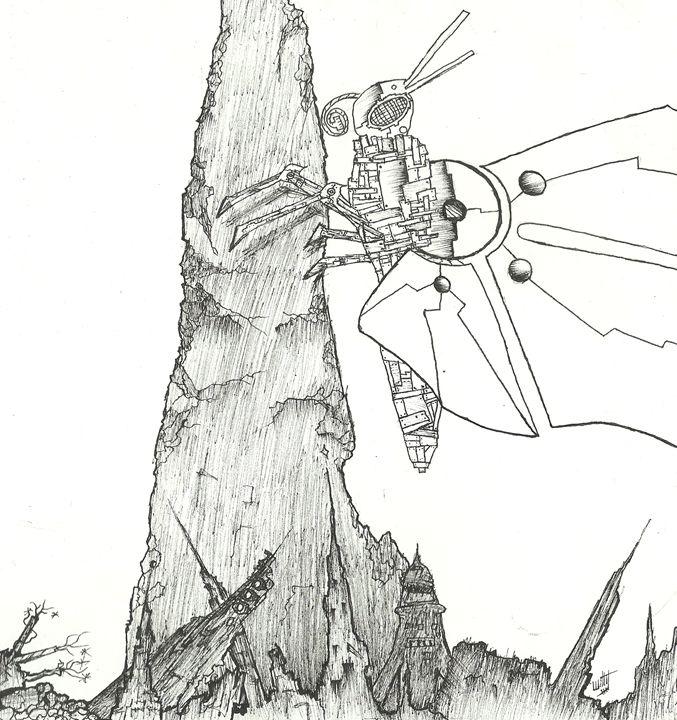 Mechanical Butterfly - Julian Allen Johnson