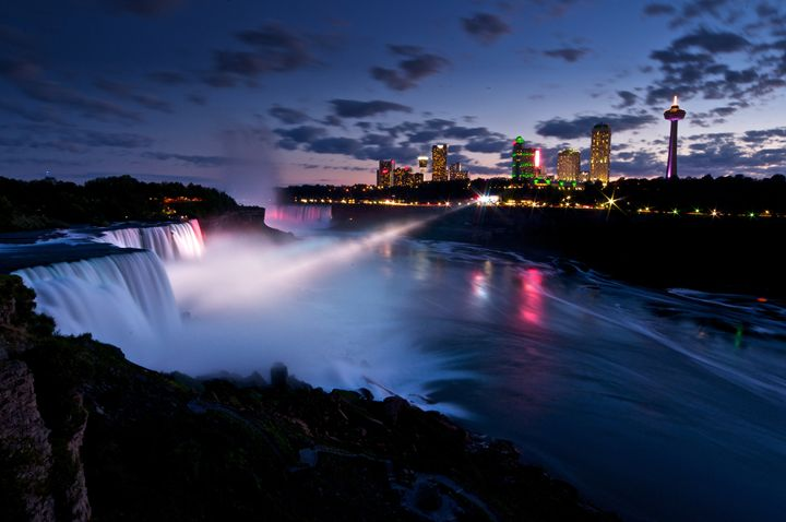 Niagara at Night - Karl J. Steblein Jr.