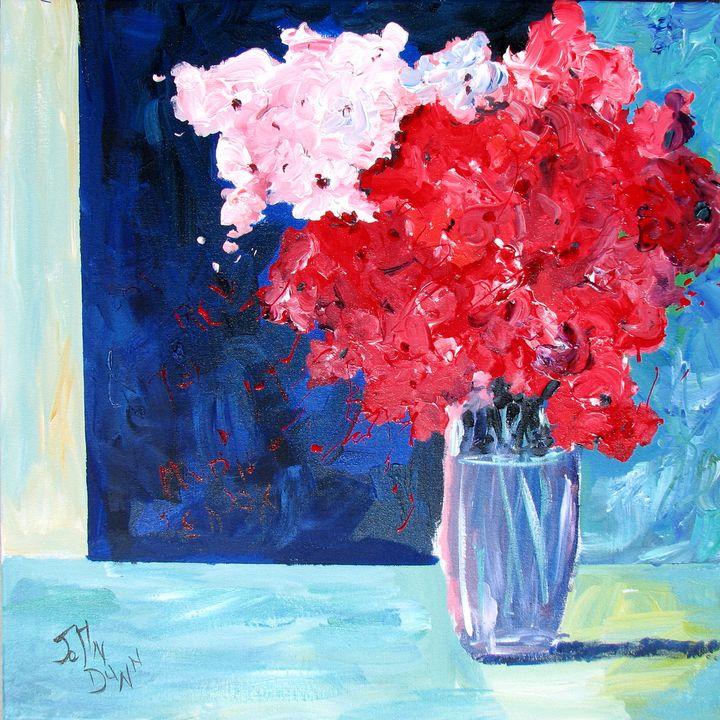 MiMi's Flowers - California Watercolors by John Dunn