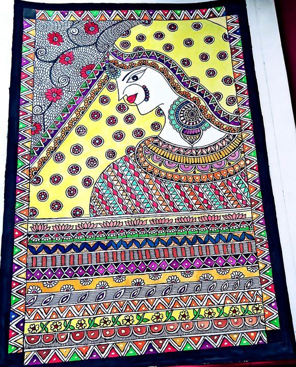 Madhubani painting - KanchanHarsh