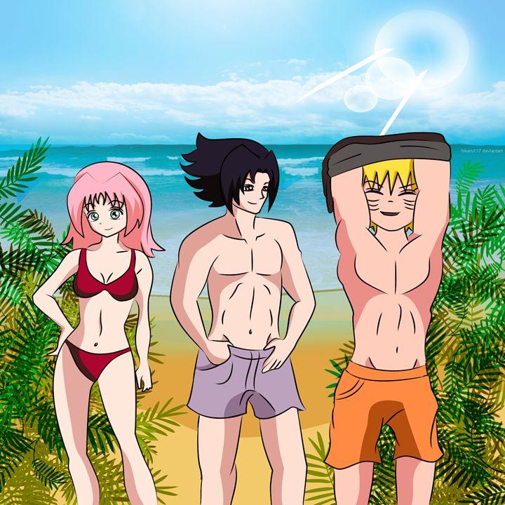 Team 7 at the beach - Solmaira