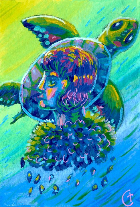 Turtle Buddy - CT Artistry