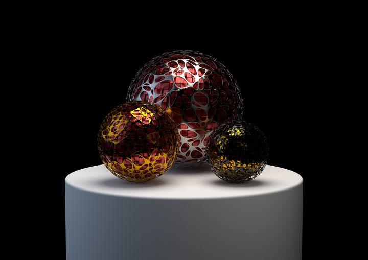 Podium - Woolstanwood Digital Art