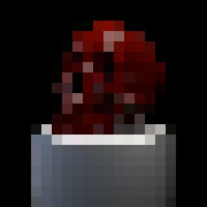 Blood Skull On A Pedestal