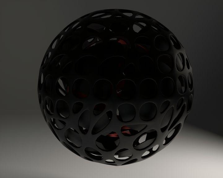 Spheres 2 - Woolstanwood Digital Art