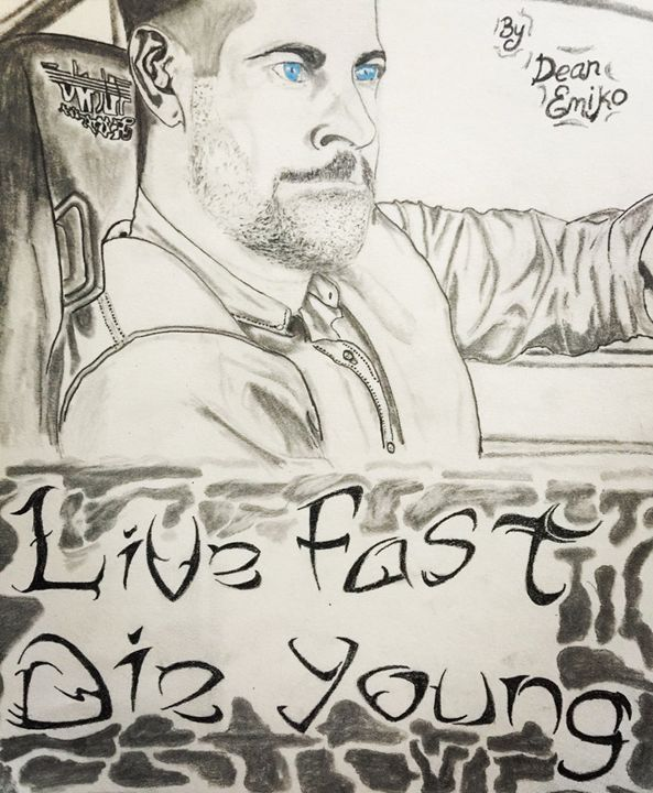 Paul Walker Live fast, Die Young - Dean's Creation