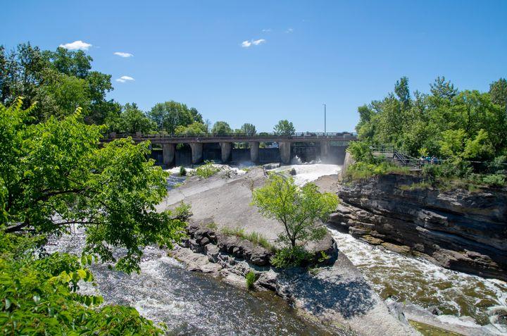 Hog's Back Park and waterfall 2 - Bob Corson Photography
