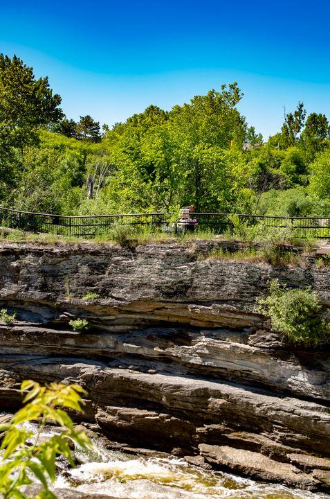 Hog's Back Park and waterfall 6 - Bob Corson Photography