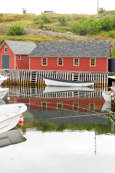 Inner harbour Trinity Bay 2 - Bob Corson Photography