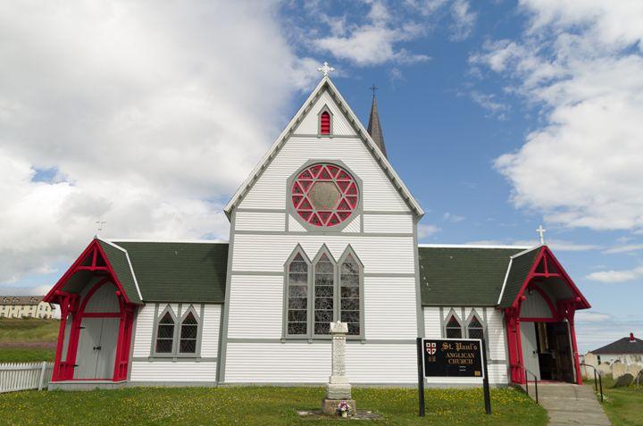 St. Paul's Anglican Church 2 - Bob Corson Photography