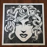 Medusa woodcut