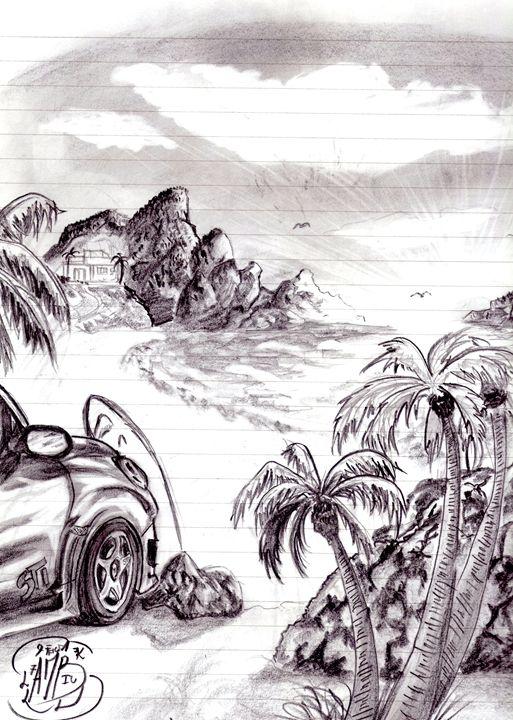 Lovely day on the beach - Leonando