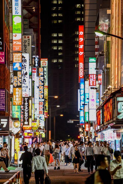 Shinjuku - Michael Marlow Photography