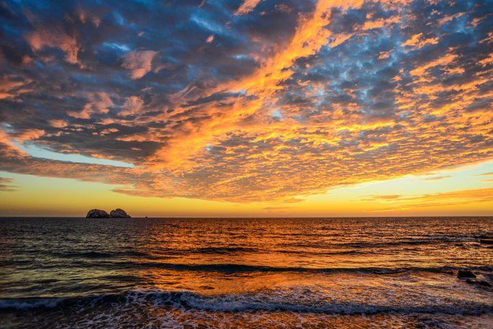 Sunset in Mazatlan - Michael Marlow Photography
