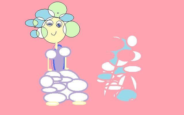 bubble girl - Monica de la nuez