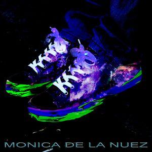 Neon galaxy shoes
