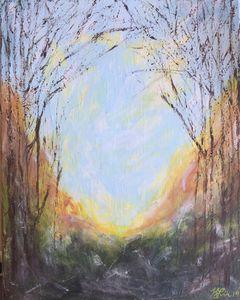 Sun Break by Kim Leaman