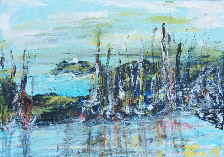 Half Moon Bay - Kim's Avant Art