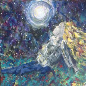 Moon Bathing by Kim Leaman