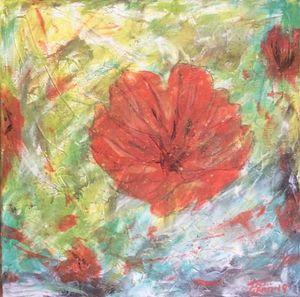 Poppies by Kim Leaman