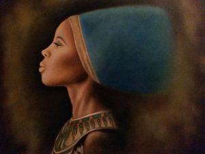 Black Nefertiti-Hereditary Princess
