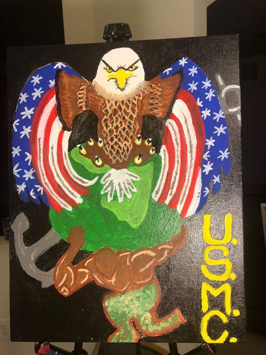 """US Marine Corp."" - Lay's Visions"