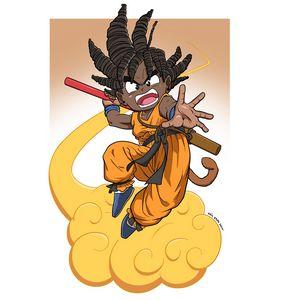 Dreadlocks Goku