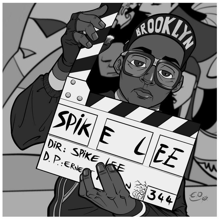 Spike Lee - ERIC EPOTE ART