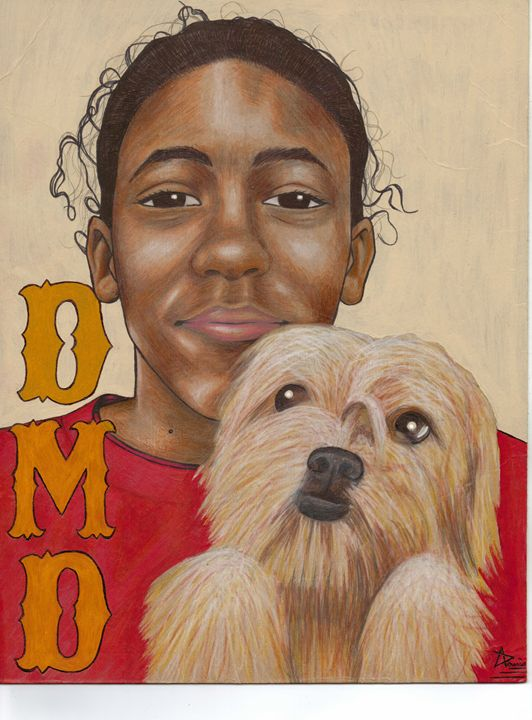 De'Jeeiare and His Best Friend - Adam Davis, Artist