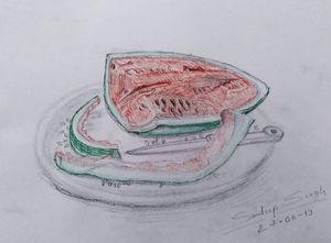 Watermelon a.k.a Tarbooz - Sketchpen