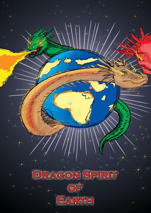 DRAGON SPIRIT OF EARTH - Digital CS6 - Sandeep's gallery