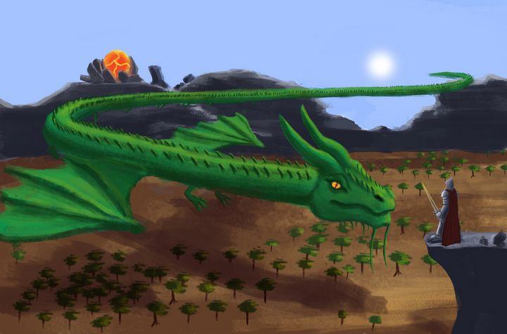 Mystical Dragon - Noble Warrior - Sandeep's gallery