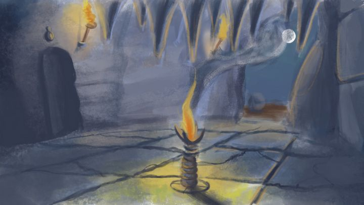 Cave Interior - Digital Fantasy, PS - Sandeep's gallery