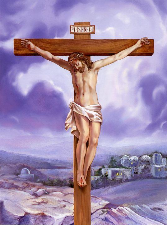 Crucifixion of Jesus - ArtHouseDesign