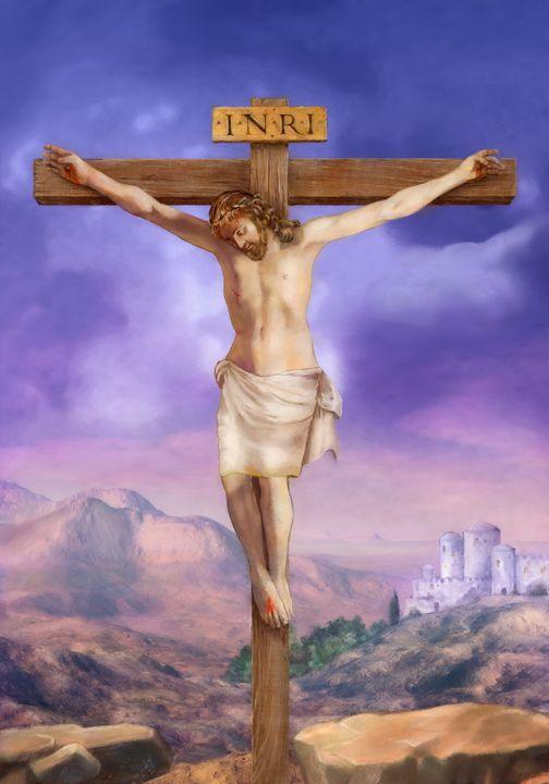 23c4bfacdf Crucifixion of Jesus - ArtHouseDesign - Drawings   Illustration ...