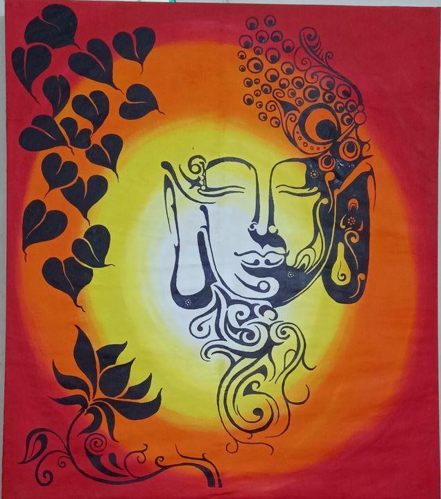 Peace in Buddha - R.Chaurasiya