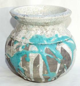 Raku Jar - Alexis Dillon Art