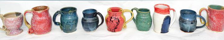 Mugs , Mugs , Mugs - Alexis Dillon Art