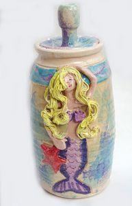 Mermaid Jar - Alexis Dillon Art