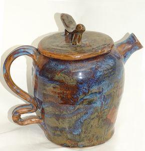 Variegated Teapot