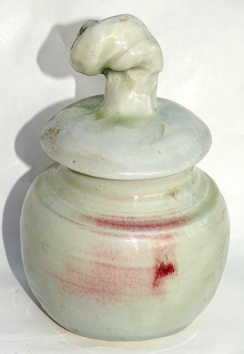Porcelain Jar - Alexis Dillon Art