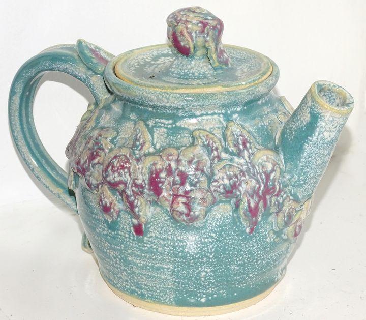 SeaGreen Teapot - Alexis Dillon Art