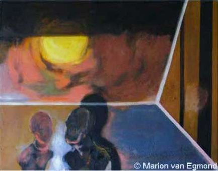 Two with sun - Marion van Egmond