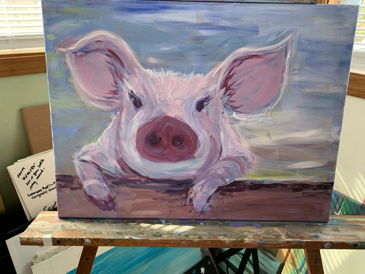 Pig - Jennifer Anderson's art