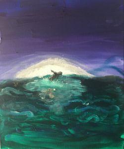 Into the sea - Amaias art