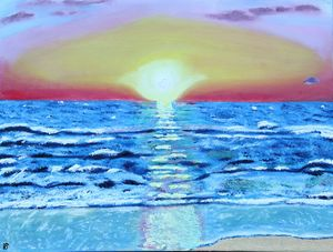 Israel Mediterranean Sunset