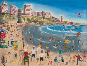 Busy on the Beach - Netanya