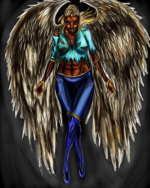 Golden Angel - Dark Wolf Creative