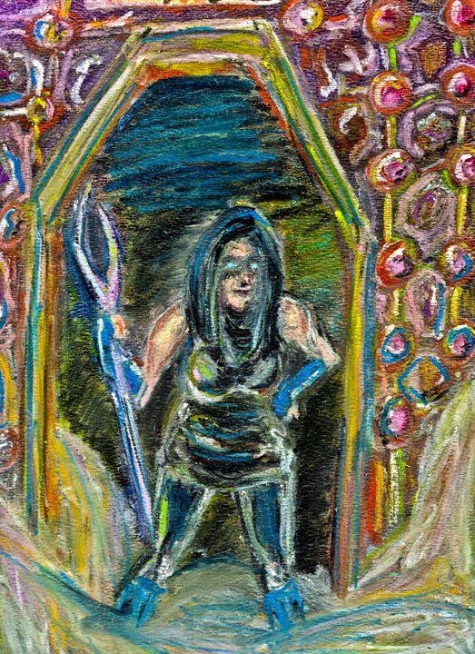 Cyberpunk Warrior - Dark Wolf Creative
