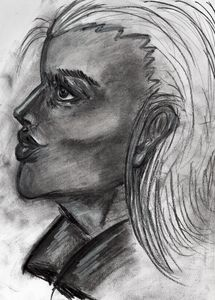 Charcoal in Portrait